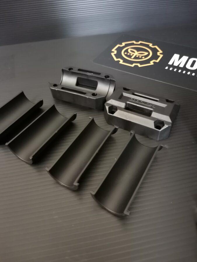 Sliders proteção ferros universais ajustáveis