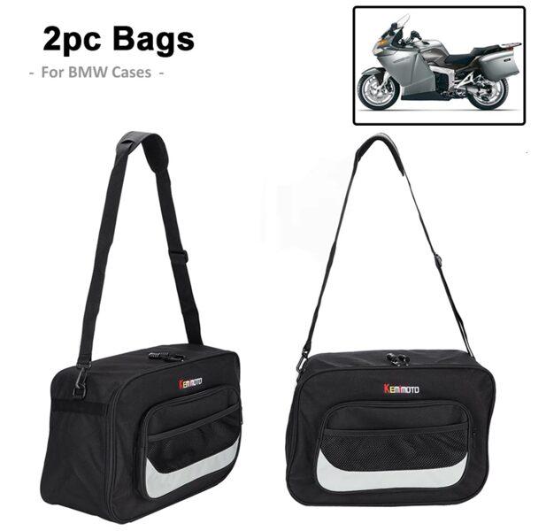 Par sacos de viagem para malas bmw r1200 RT- K1200GT -S1000XR etc